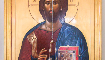 Новый иконостас храма Христа Спасителя Николо-Берлюковской пустыни