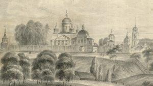 Фрагмент литографии 1844 года