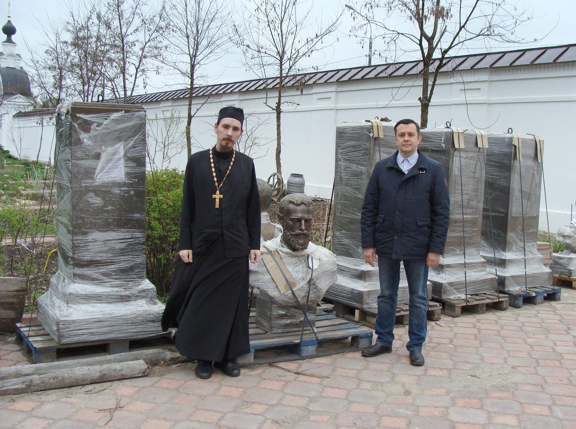 Николо-Берлюковский мужской монастырь. памятник Великому Князю Сергею Александровичу