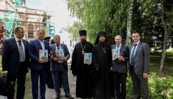 Открытие и освящение памятника Великому Князю Сергею Александровичу