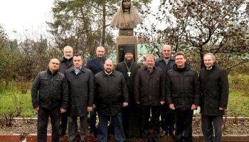 Открытие и освящение памятника