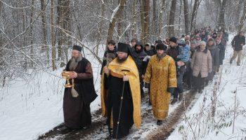 Крестный ход на Николу-зимнего