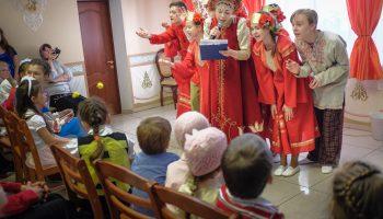 Пасхальный детский праздник