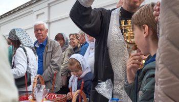 Освящение куличей на Пасху 2019 года