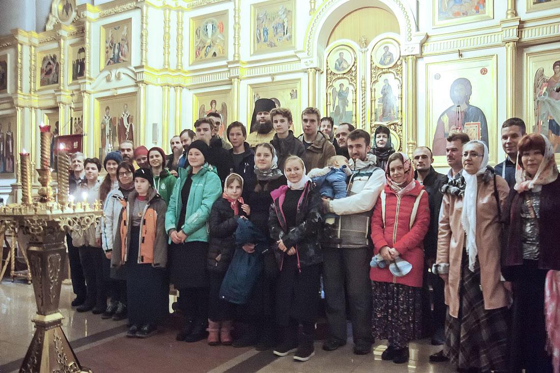 Новолетие в Николо-Берлюковском монастыре