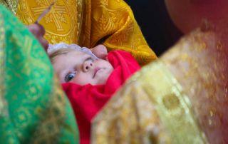 Причастие младенцев в Великий пост