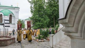 """Крестный ход в честь иконы """"Лобзание Христа Иудой"""""""