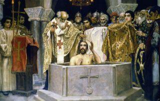 Крещение Руси - шаг навстречу Богу