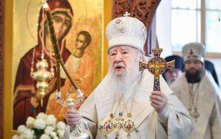 Великое освящение храмов Николо-Берлюковского монастыря