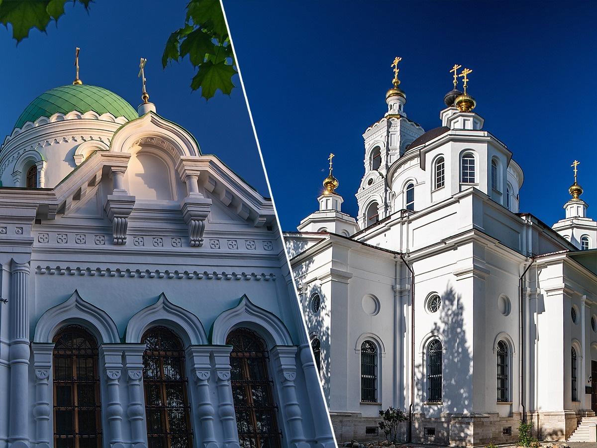 Николо-Берлюковская пустынь 19 августа 2020 великое освящение Троицкого собора и храма Христа Спасителя