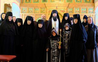 Постриг в схиму в Белопесоцком монастыре