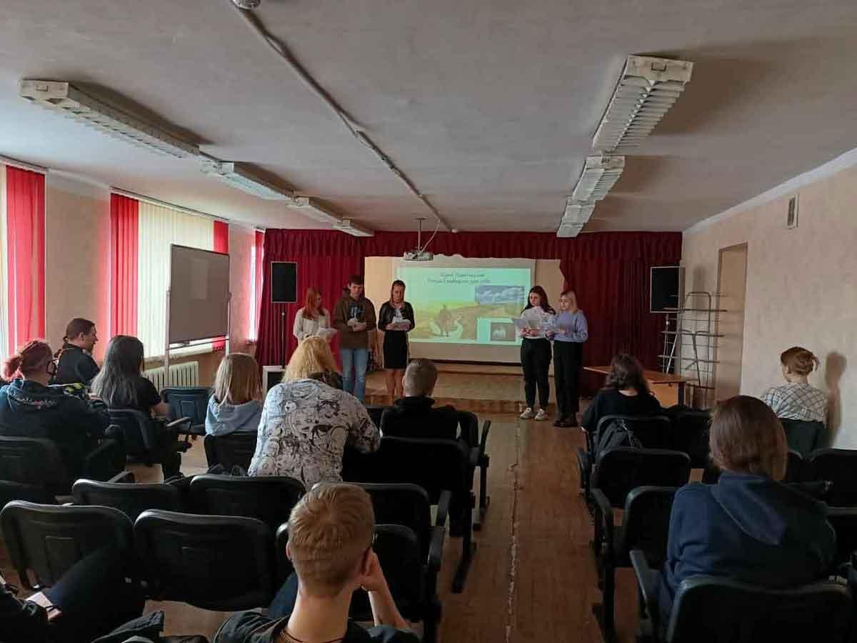 Беседа в Щелковском колледже