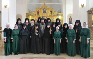 Монашеский постриг в Александро-Невском женском монастыре