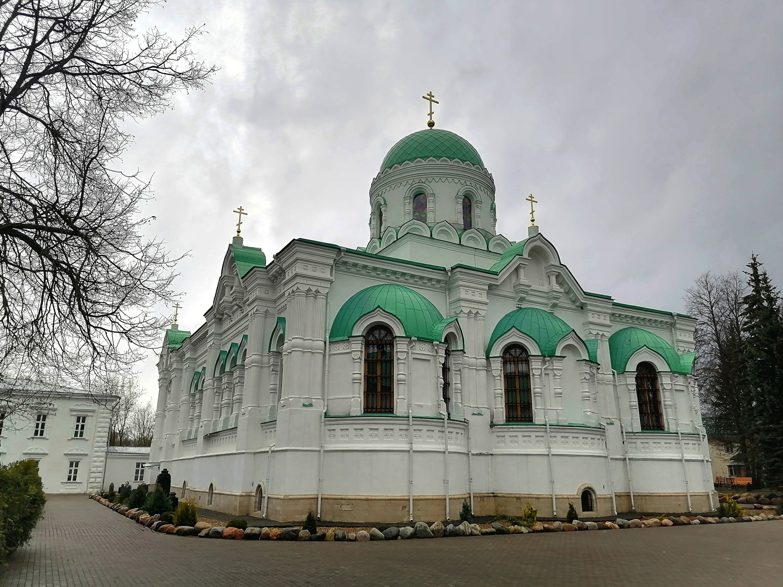 Троицкий собор Николо-Берлюковской пустыни. Фото 2021г.